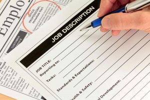 Decorative Image - Job Description Form