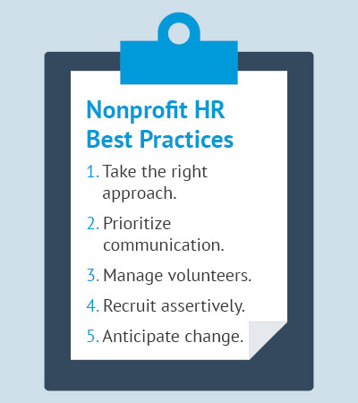 These are the best practices when working with a nonprofit HR consultant.