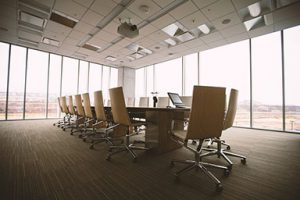 Decorative Image - Empty Conference Room