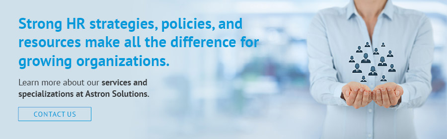 Learn how Astron Solutions can take your nonprofit HR to the next level.