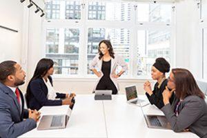 Decorative Image - Team meeting