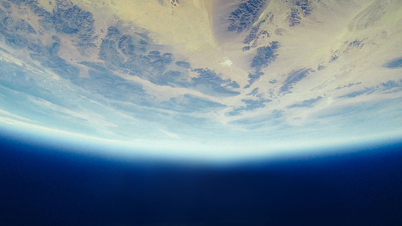 Decorative Image - Photo of the Earth from space.