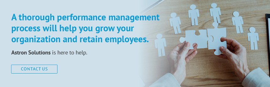 Optimize your performance management process to help retain talent at your organization.